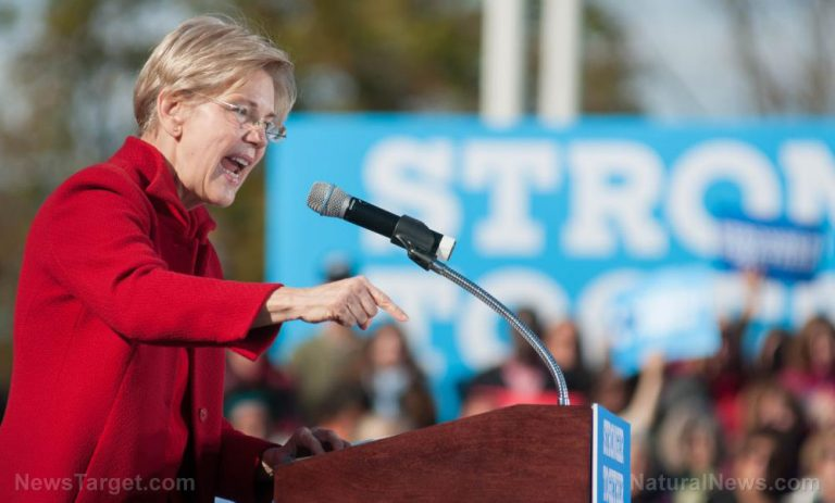Elizabeth Warren wants the federal government to CONFISCATE your wealth at gunpoint