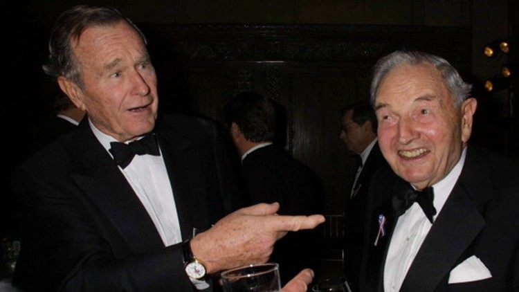 In 1991, David Rockefeller spoke of a globalist-media collusion to install a world government