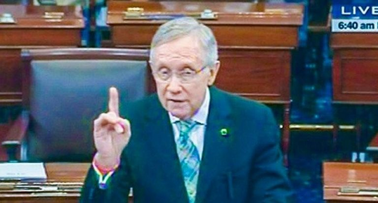 Harry Reid is dying of pancreatic cancer