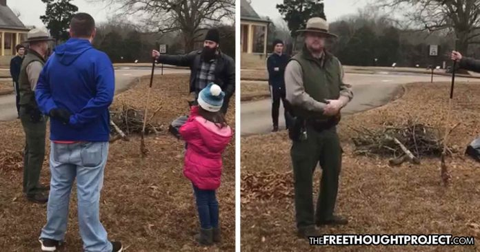 VIDEO: Volunteers Kicked Out of Nat'l Park for Cleaning It During Shutdown—Without a Permit
