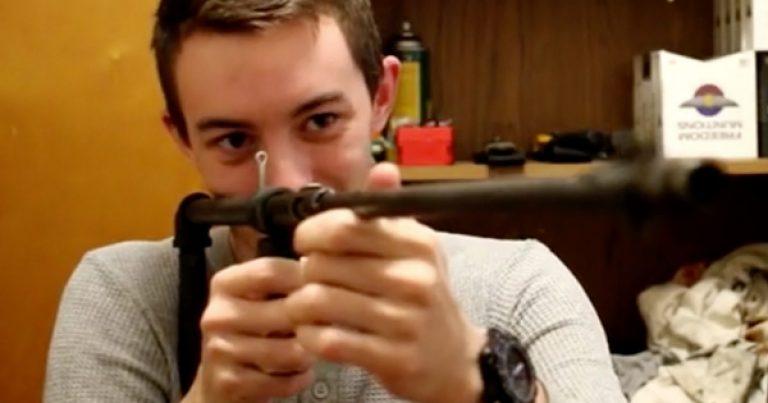 "Missouri Patriot makes ""junk"" guns from scrap, uses gun buyback proceeds to buy a real gun"