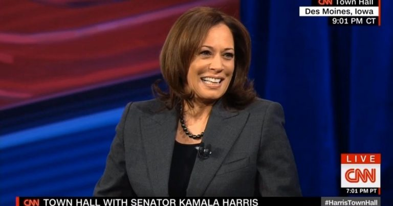 Socialist Senator Kamala Harris Calls For Eliminating Private Health Insurance