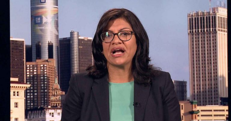 Muslim Rep. Rashida Tlaib's Antisemitism Problem Is Getting Worse