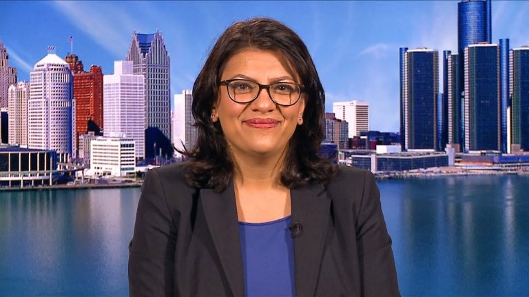 Virulent Anti-Semite Rashida Tlaib Represents America's Future Under Democrat Control