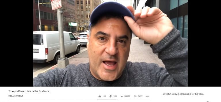 WATCH: Cenk Uygur Declared 'Trump's Done' Hours Before Buzzfeed Story Debunked