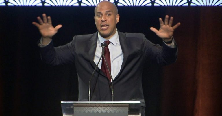 Cory 'Spartacus' Booker declares planet 'simply can't sustain' people eating meat