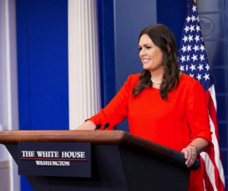 """Press Secretary Sarah Sanders Triggers The Mainstream Media By Saying That God """"Wanted Donald Trump To Become President"""""""