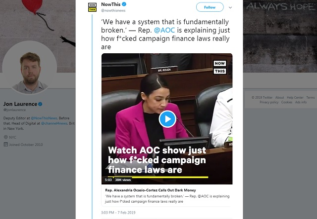 38 Million Views and Counting — This Error-Ridden AOC Clip is Twitter's Most Watched Political Video Ever