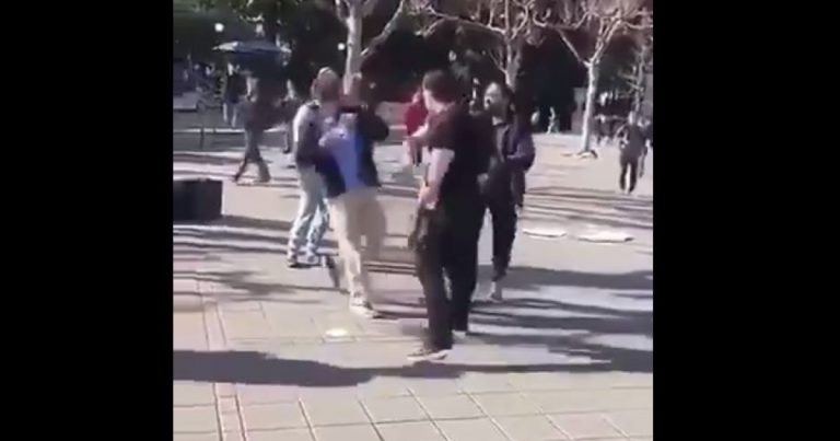 Video: Conservative Turning Point USA activist punched in the face at Berkeley by 'leftist thug'