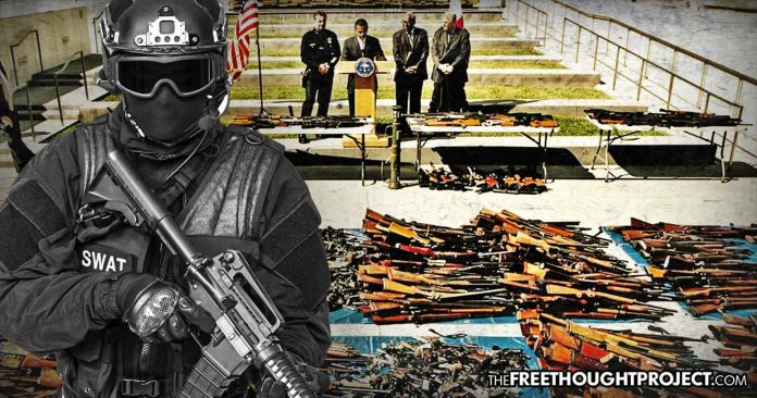 Unprecedented Gun Confiscation Hits US as Thousands Of Guns Seized from Innocent Citizens