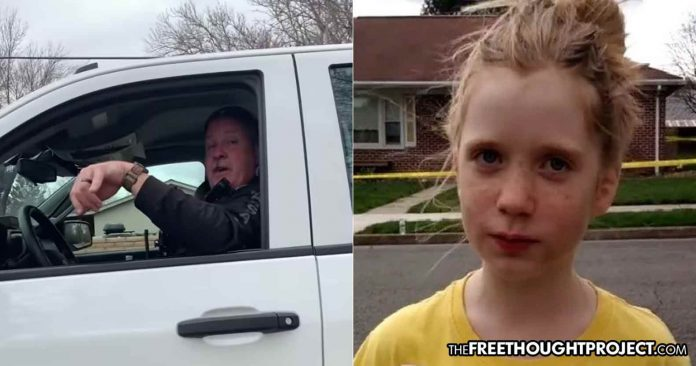 Video: 12yo Girl Owns Cop for Threatening to Arrest Her for Her Journalism