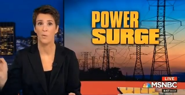 Rachel Maddow Loses It: The Russians Are Coming to Turn Off The Heat to North Dakota!