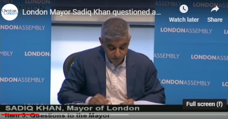 Freedom of Speech Dead in UK: London's Muslim Mayor Defends Arrest of Christian Preacher