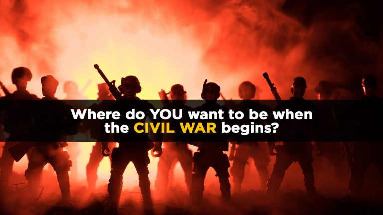 Why the treasonous Left will suffer a brutal loss in the coming civil war as power, water and food supply lines are cut by rural patriots defending America