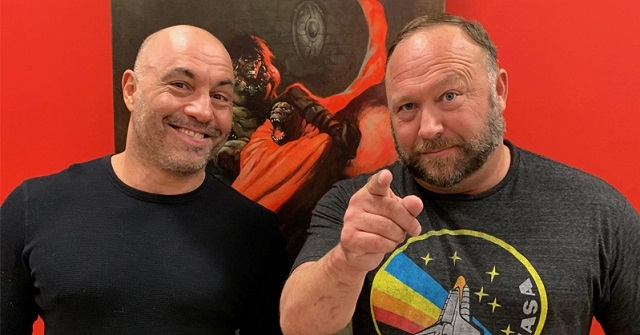 """Alex Jones Returns"" Interview With Joe Rogan Gets 4.5 Million Views After Just One Day"
