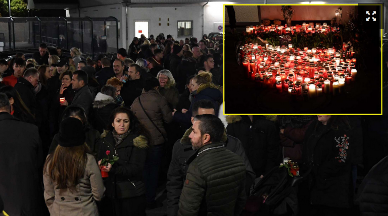 """""""ALLAHU AKBAR!"""" screams at funeral service for woman murdered by a Muslim migrant, people run out of church in panic"""
