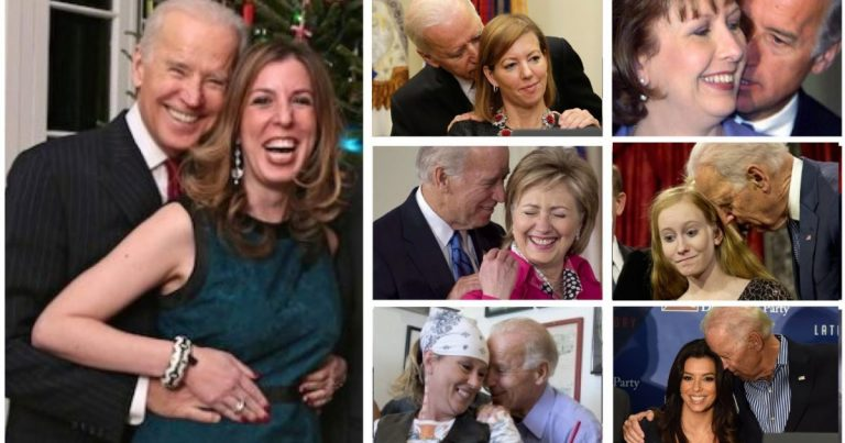 Media Only Now Willing To Cover Joe Biden's Creepiness When It Suits Their Agenda