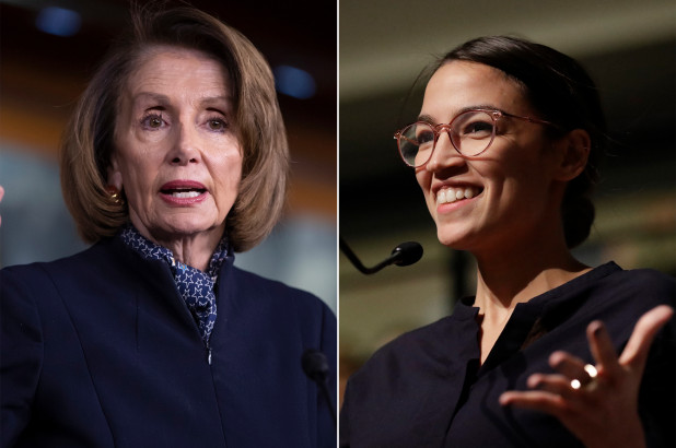 Aisle Crossing Democrats Get Spanked by Pelosi and AOC: Then Threats Are Made