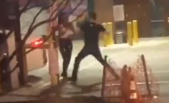"Witness Video: Dallas Street Beat Down As Man Repeatedly Uppercuts Woman: ""He Charged At Me And He Just Kept Hitting Me"""