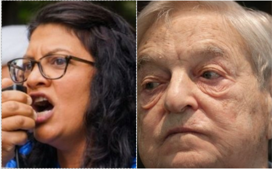 Rashida Tlaib got $225,180 from Soros' organization AND paid herself $45K from campaign funds