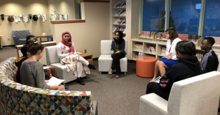 WTH??? Parents & Press BANNED as Ilhan Omar Talks to Elementary Students Behind Closed Doors