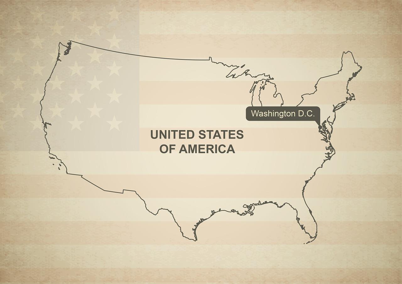 Maps of United States of America (USA U.S.)