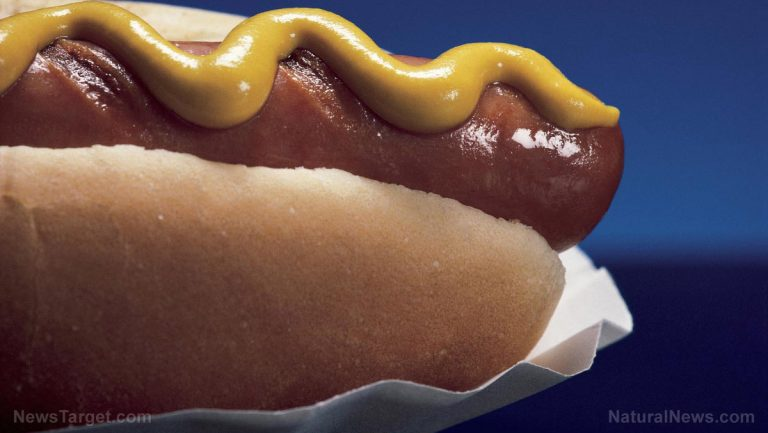 New York City banning hot dogs, claiming they cause the planet to overheat