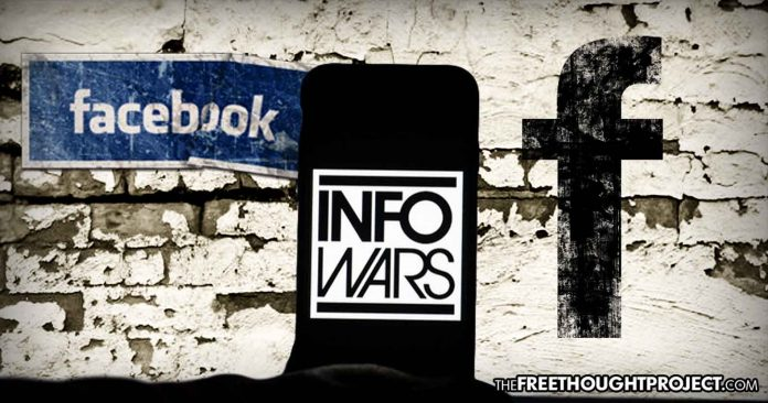 Zuckerberg's Ministry of Truth: Facebook to Ban Users Who Share InfoWars Content, UNLESS the Intent is to Condemn