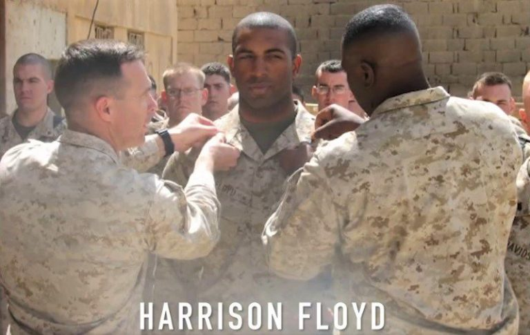 "Marine Vet Harrison Floyd: ""I'll fight socialists in Congress the same way I fought terrorists in the desert."""