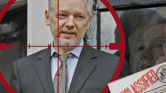 Julian Assange Charged Under The Espionage Act On 17 Counts plus more Rendition-plane-police-presence-assange-1-678x381