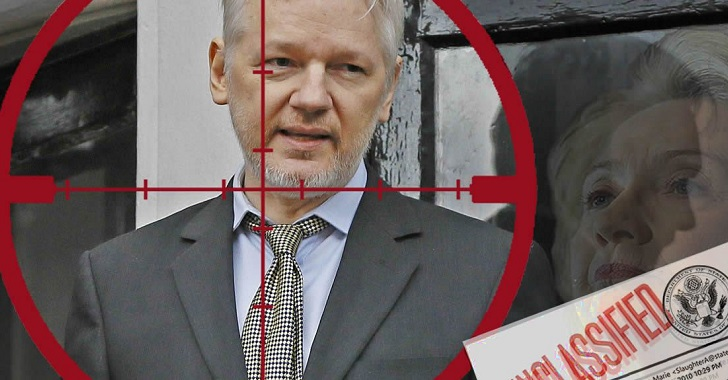Death Of Free Press? Julian Assange Charged Under The Espionage Act On 17 Counts