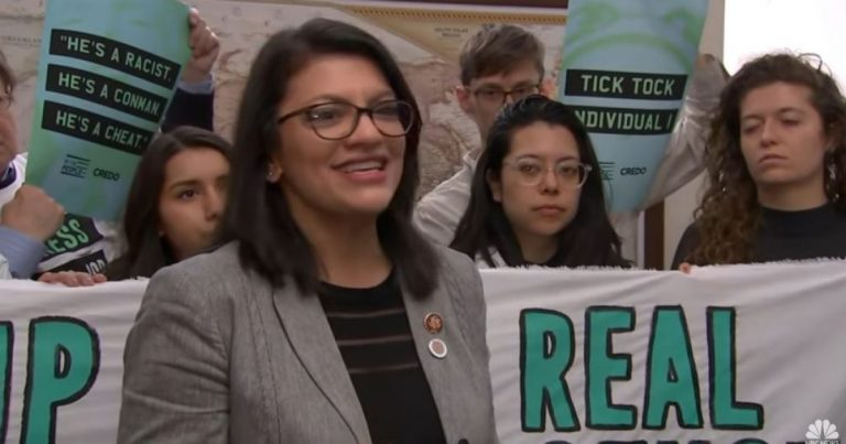 Deja Vu: Lyin' Rashida Tlaib Says House Ready to Impeach Trump Now