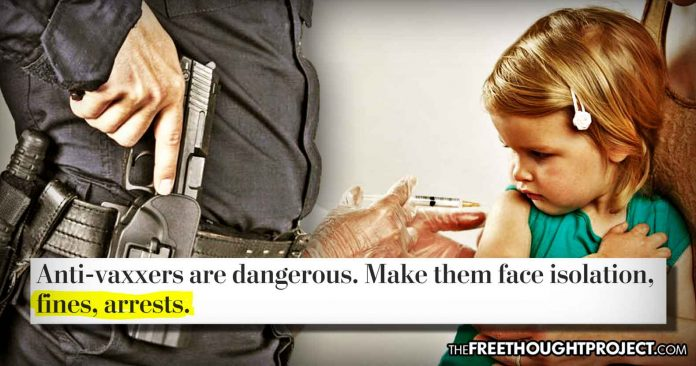 """State-Controlled Media Calls for Arrest of """"Antivaxxers"""""""