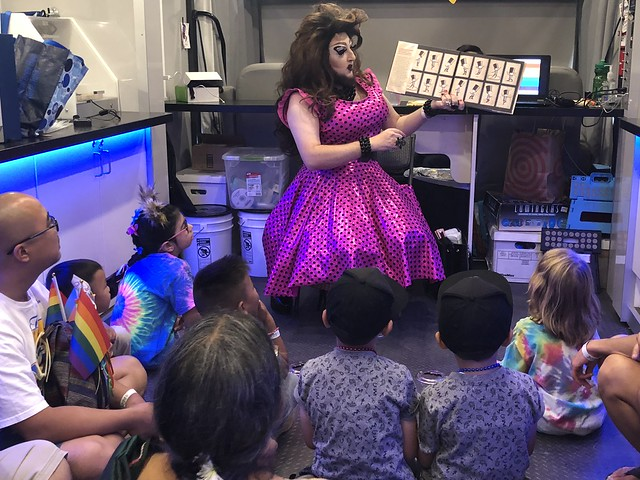 Concerted PSYOP introduces adolecent children to transgender crossdressers on national scale