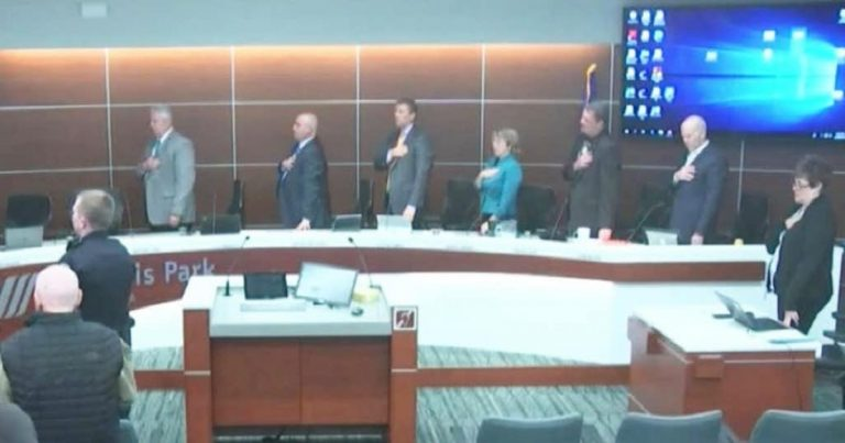 City Council in St Louis Park, MN Voted to Ditch Pledge of Allegiance …Then Backlash