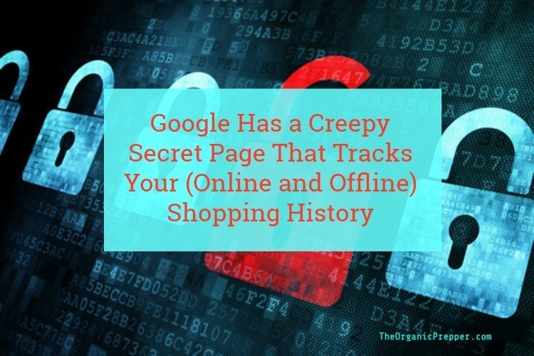 Google Has a Creepy Secret Page That Tracks Your (Online and Offline) Shopping History