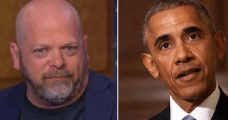 Rick Harrison of Pawn Stars, Destroys Obama's Legacy