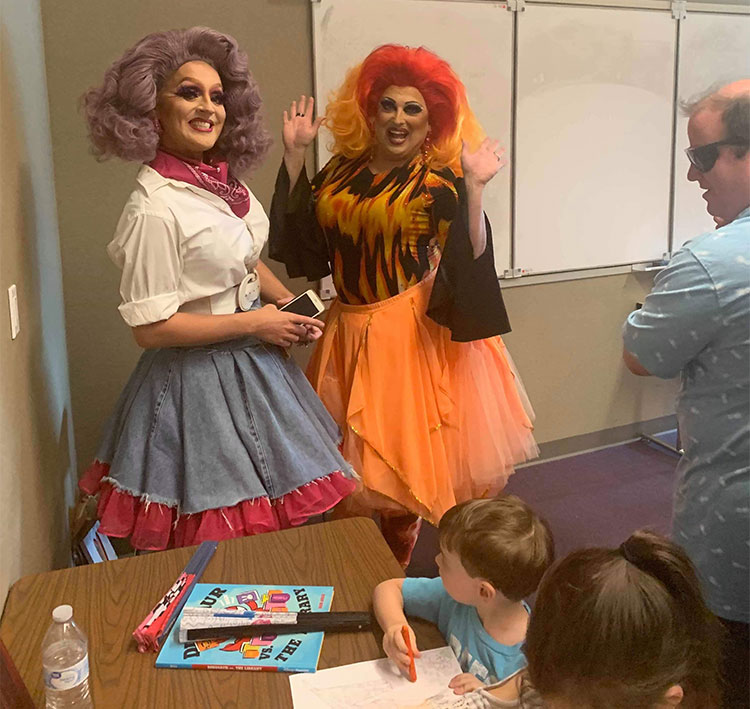 """CHILD ABUSE: Dallas Parents Mobilize To Protest """"Drag Queen"""" Reading To Small Children """"What Color Is Your Underwear?"""""""