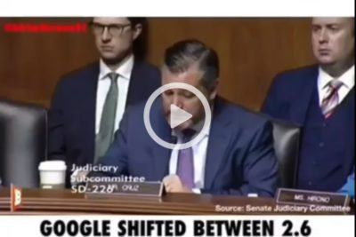 Google Expert At Senate Hearing: 15 Million 2020 Votes At Risk, Manipulating Voters 'On A Massive Scale'