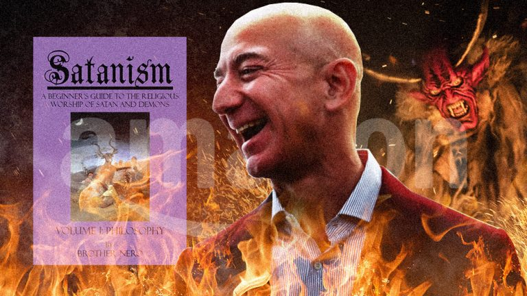 Amazon openly sells pedophilia products while banning books that try to help people overcome unwanted same-sex attraction