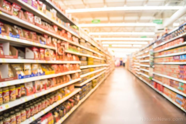 Food shortages begin as canned vegetables start to run out at grocery stores