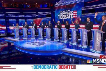 Democrat Presidential Hopefuls Present Their Destruction Of America Plans At Debates