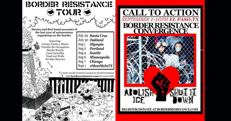 Antifa TERRORISTS Gearing Up for 10-Day Siege on Southern Border, Flyers Show Dead ICE Agents