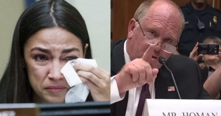 AOC Embarrassed & Speechless, After Trying To Punk Former ICE Director