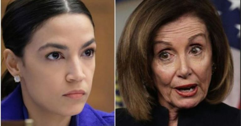 AOC Accuses Pelosi Of Racism … Doesn't End Well For Her As Democrats Side With Pelosi