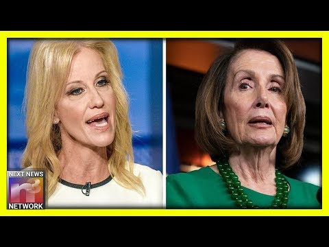 Kellyanne Conway Drops BOMB On Pelosi, AOC As They CONTINUE To Catfight With Each Other