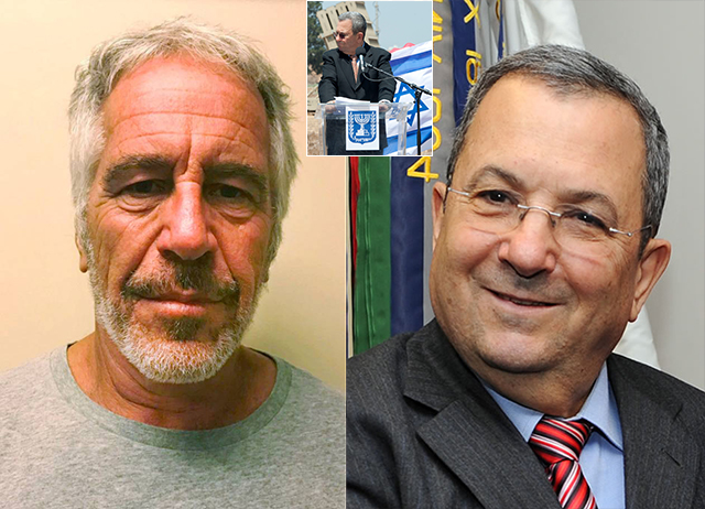 Former Israeli PM Ehud Barak Seen 'Hiding His Face' Entering Jeffrey Epstein's Mansion