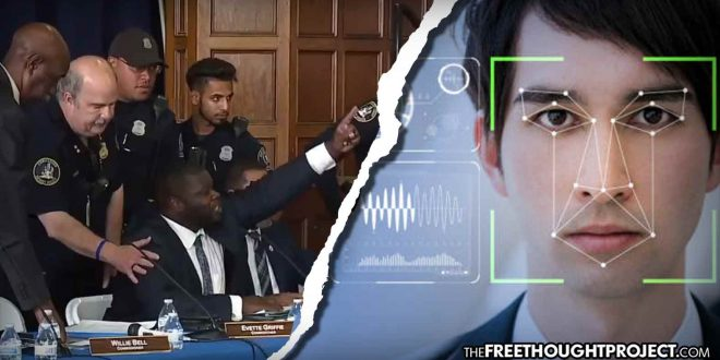 WATCH: Police Commissioner Arrested For Questioning City's Use Of Facial Recognition
