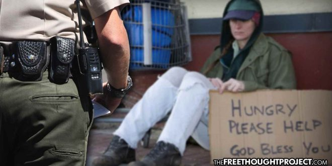 California City Announces Cops to Begin Arresting People for Being Homeless in the Wrong Part of Town