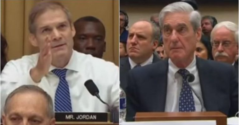 Watch: Jim Jordan Rips Mueller Apart — Bill Barr Is Investigating YOU Now